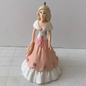 Hallmark Springtime Barbie ornament 1997